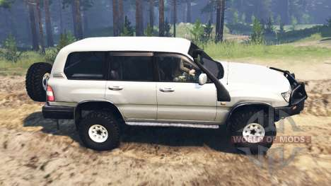 Toyota Land Cruiser 105 [03.03.16] para Spin Tires
