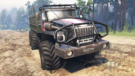 Ural-4320-10 v2.3 para Spin Tires