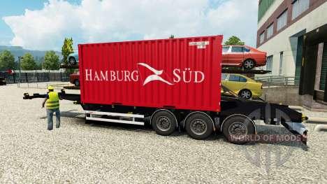 Semi barcos de contenedores para Euro Truck Simulator 2