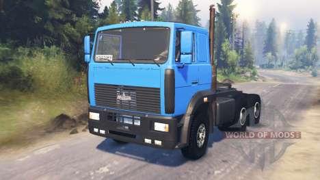 MAZ-6422 para Spin Tires