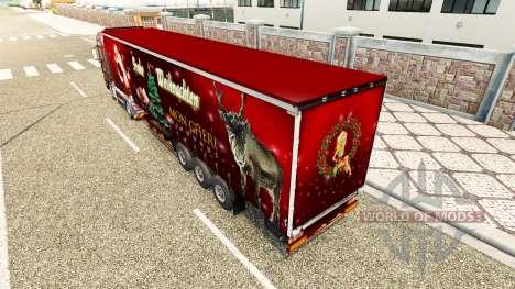 La navidad de la piel para el HOMBRE camión para Euro Truck Simulator 2