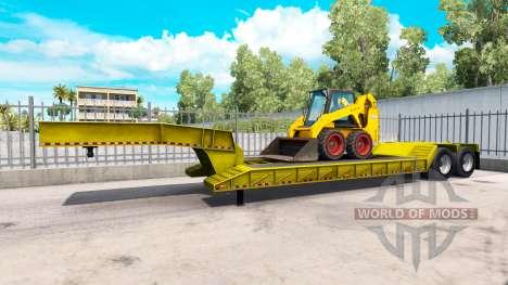 Baja de barrido Bobcat 800 para American Truck Simulator