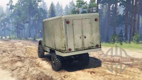 GAS-63M para Spin Tires