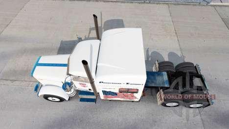 Casa de máquinas de Transporte de la piel para e para American Truck Simulator