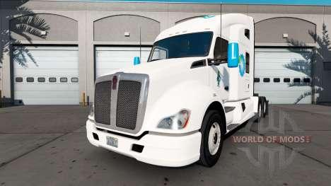Amerigroup de la piel para el Kenworth tractor para American Truck Simulator