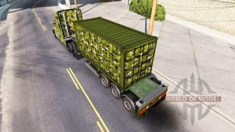 El ejército de la piel para Kenworth tractor para American Truck Simulator