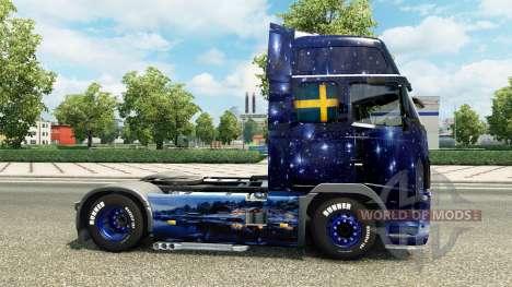 Wiking de Transporte de la piel para camiones Vo para Euro Truck Simulator 2