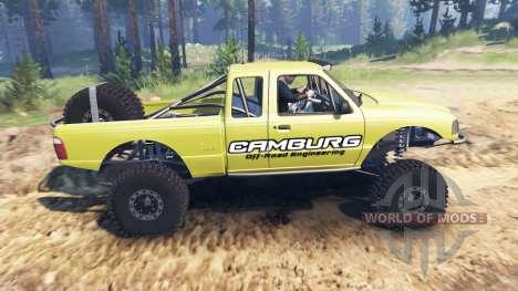 Ford Ranger Pre-Runner [03.03.16] para Spin Tires