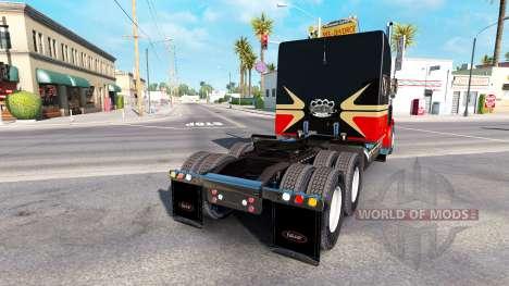 La piel Bajo la Vida para el camión Peterbilt 38 para American Truck Simulator