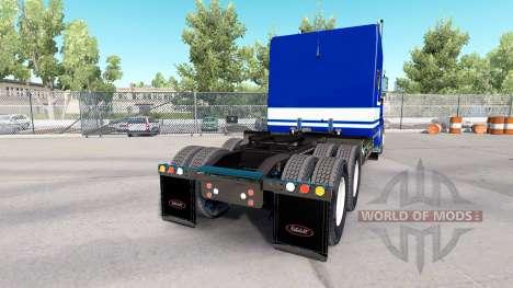 La Piel De Jack C Moss Trucking Inc. Peterbilt para American Truck Simulator