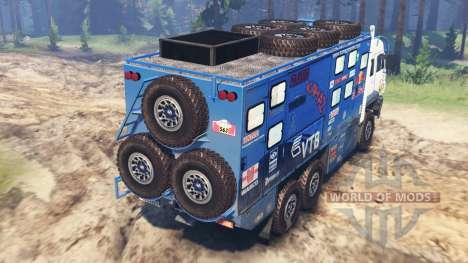 KamAZ-635050 [03.03.16] para Spin Tires