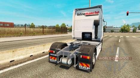 Intersectorial de la piel para DAF camión para Euro Truck Simulator 2