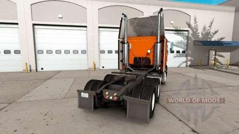 La piel de color Amarillo Susto del Sistema en l para American Truck Simulator