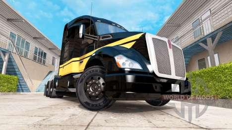 La piel de Smokey y El Bandido Kenworth truck en para American Truck Simulator