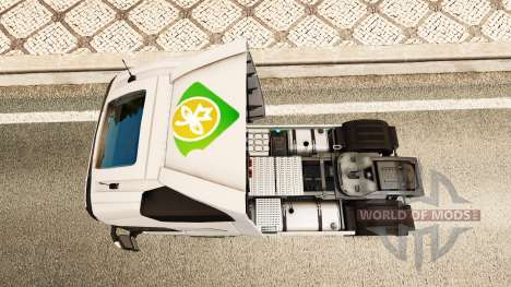 EAcres piel v1.1 tractor Volvo para Euro Truck Simulator 2