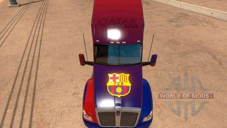 Kenworth T680 Barcelona Skin para American Truck Simulator