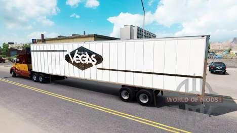 La piel de Las Vegas para el semi-remolque para American Truck Simulator