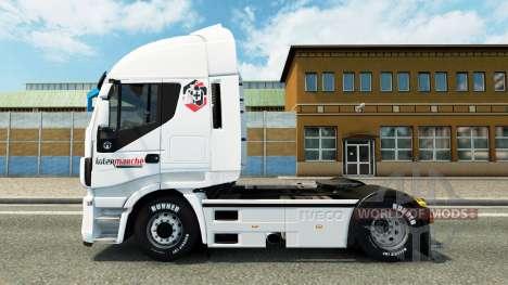 La piel Intersectorial en el camión Iveco para Euro Truck Simulator 2
