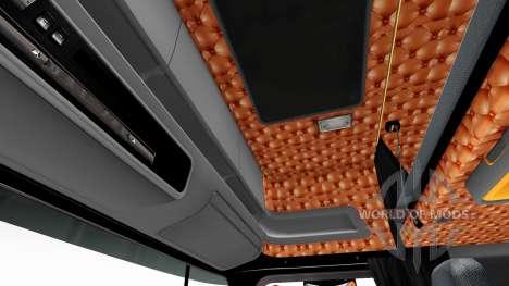 El negro y el naranja interior para Scania para Euro Truck Simulator 2