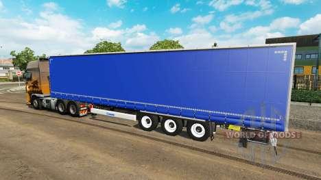 Cortina semi-remolque para Euro Truck Simulator 2