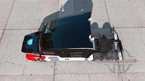 Netstoc Logistica de la piel para el Kenworth tr para American Truck Simulator