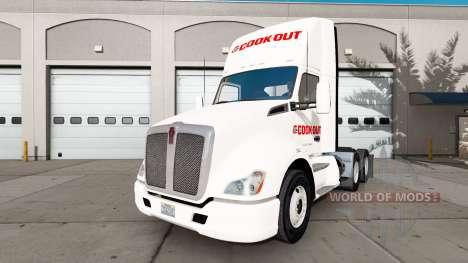 La piel Cocinar en un Kenworth tractor para American Truck Simulator