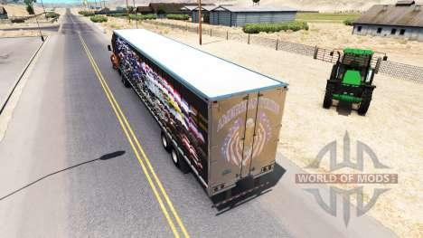 La piel del orgullo de ser Americano en el remol para American Truck Simulator
