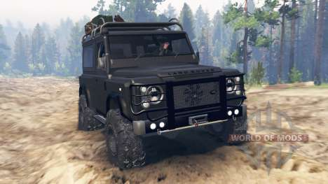 Land Rover Defender 90 Kahn 2013 para Spin Tires