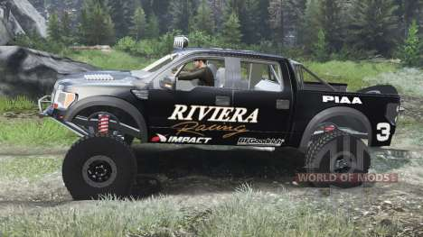 Ford Raptor Pre-Runner [03.03.16] para Spin Tires