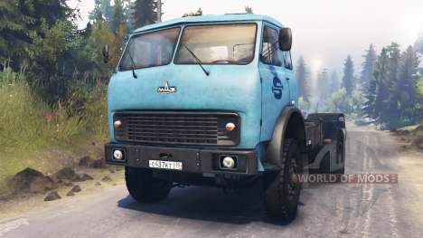 MAZ-500 para Spin Tires