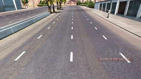 Mejora de la carretera marcas para American Truck Simulator