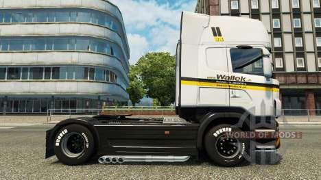 Wallek de la piel para Scania camión para Euro Truck Simulator 2