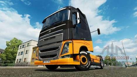 MHE piel para camiones Volvo para Euro Truck Simulator 2