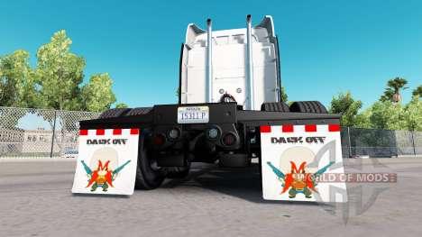 Colgajos de barro de la Espalda para American Truck Simulator