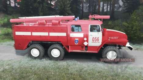 Ural-43202 AC-40 [03.03.16] para Spin Tires