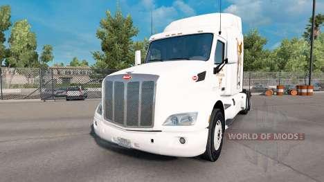 Gizmo de la piel para el camión Peterbilt para American Truck Simulator