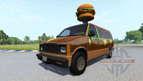 Gavril H-Series Fast Food para BeamNG Drive