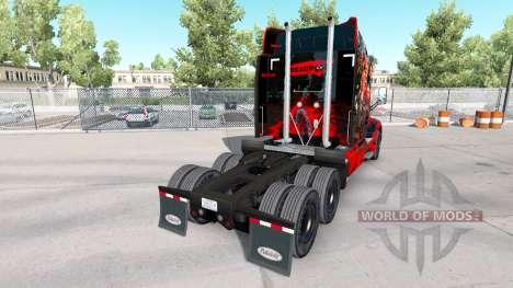 Deadpool de la piel para el camión Peterbilt para American Truck Simulator