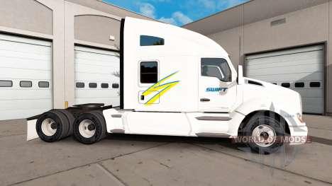 Swift de la piel para el Kenworth tractor para American Truck Simulator