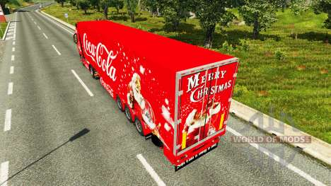 Skin Coca-Cola Volvo tractor para Euro Truck Simulator 2