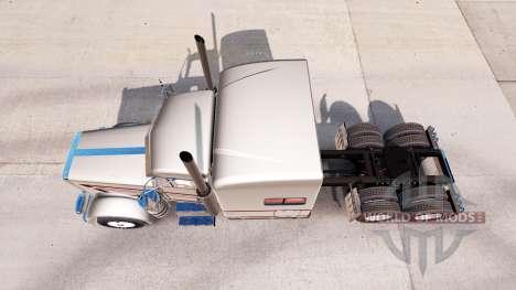 De la piel para MBH Trucking LLC camión Peterbil para American Truck Simulator