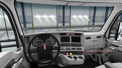 Rediseñado el interior de la Kenworth T680 para American Truck Simulator