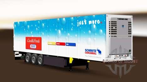 Semi-Remolque Schmitz Cargobull para Euro Truck Simulator 2
