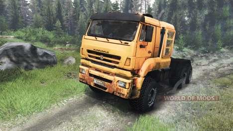 KamAZ-65226 [03.03.16] para Spin Tires