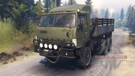 KAMAZ-4310 [twin turbo] para Spin Tires