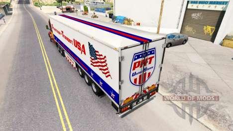 Casa de máquinas de Transporte semi-remolque, es para American Truck Simulator