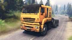 KamAZ-65226 v3.0 para Spin Tires