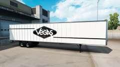 La piel de Las Vegas para el semi-remolque