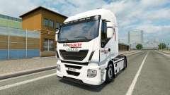 La piel Intersectorial en el camión Iveco