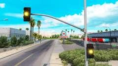 Tiempo amarillo de las luces del semáforo
